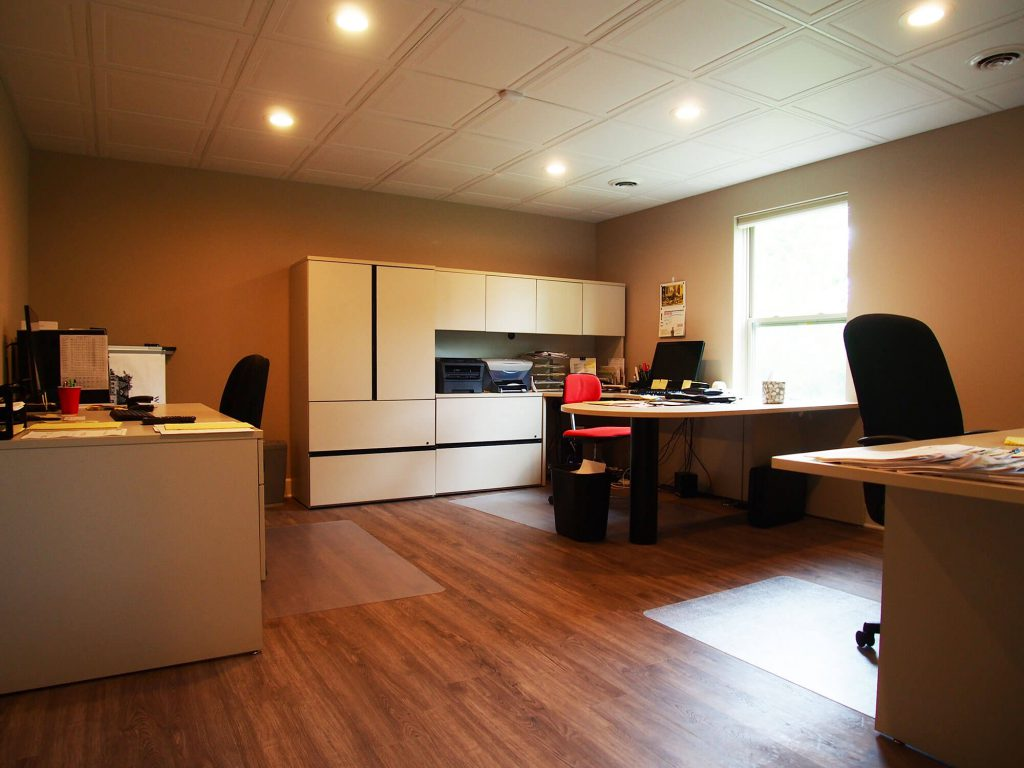 Basement Remodel Office Space Washington, MI