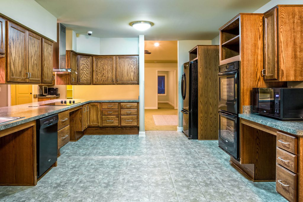 Handicap Accessible Kitchen Remodel