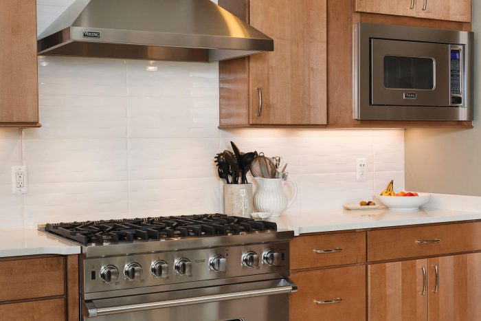 Kitchen Remodel White Countertop With White Backsplash