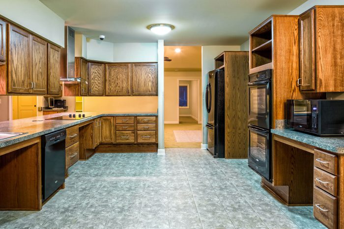Large Handicap Accessible Kitchen Remodel