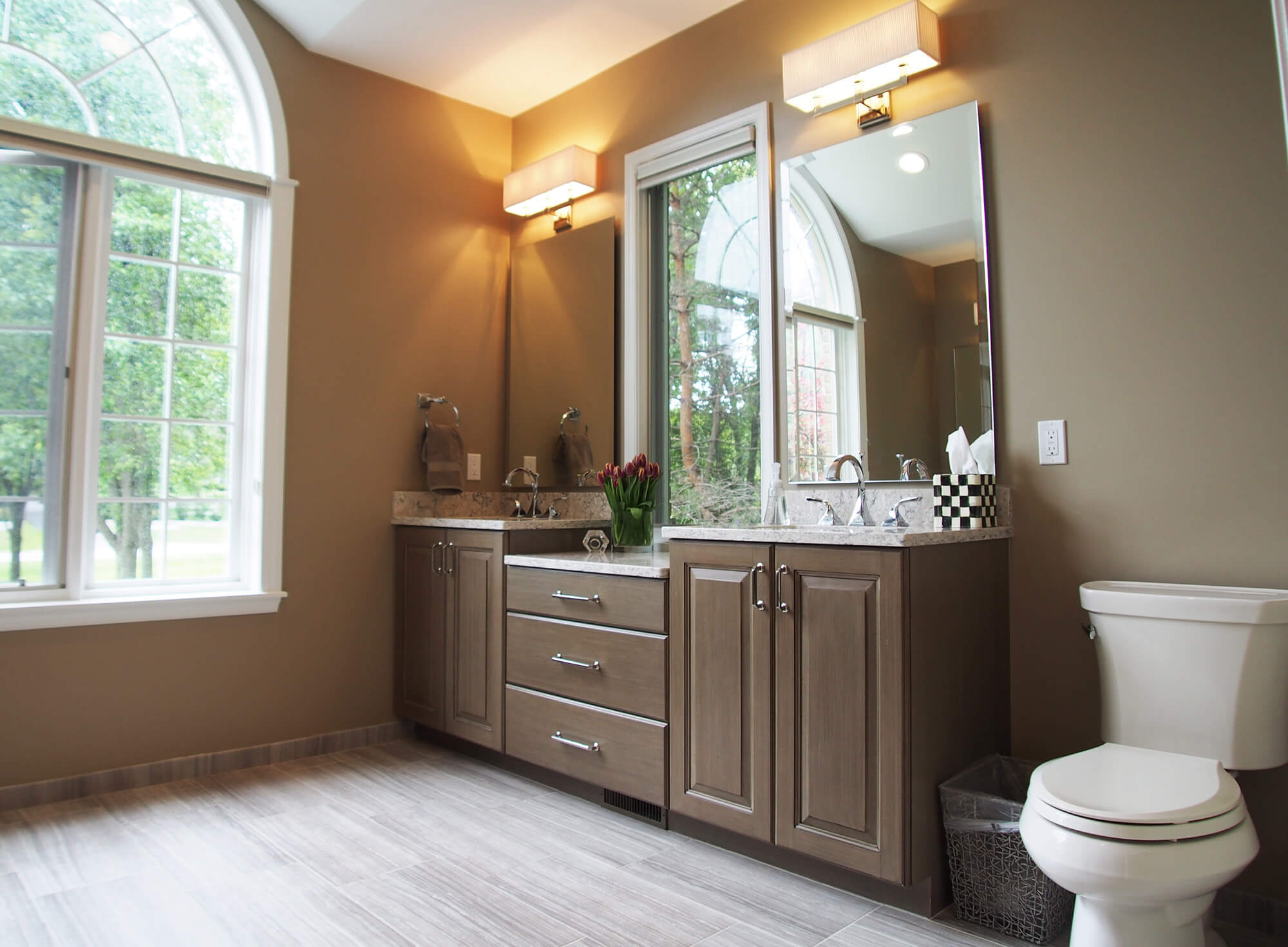 Oakland Township Style Bathroom Renovation