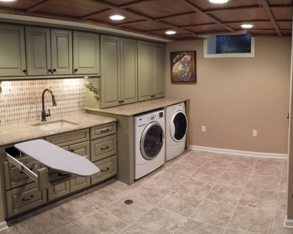 Basement Laundry Room Remodel Rochester, MI