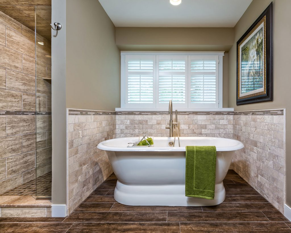 Shelby Township Style Bathroom Remodel