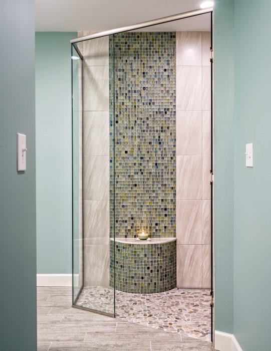 Mosaic Bathroom Remodel