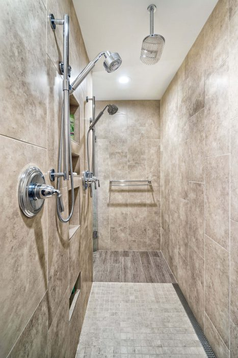 Two Person Shower Remodel