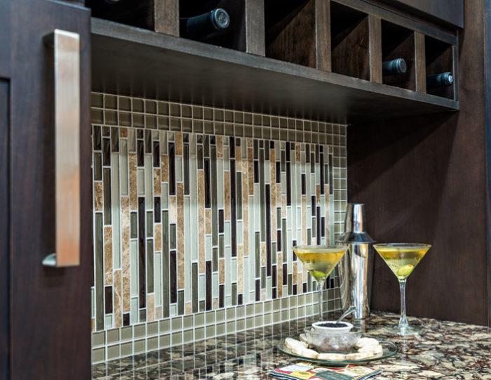Auburn Hills Bar Kitchen Remodel