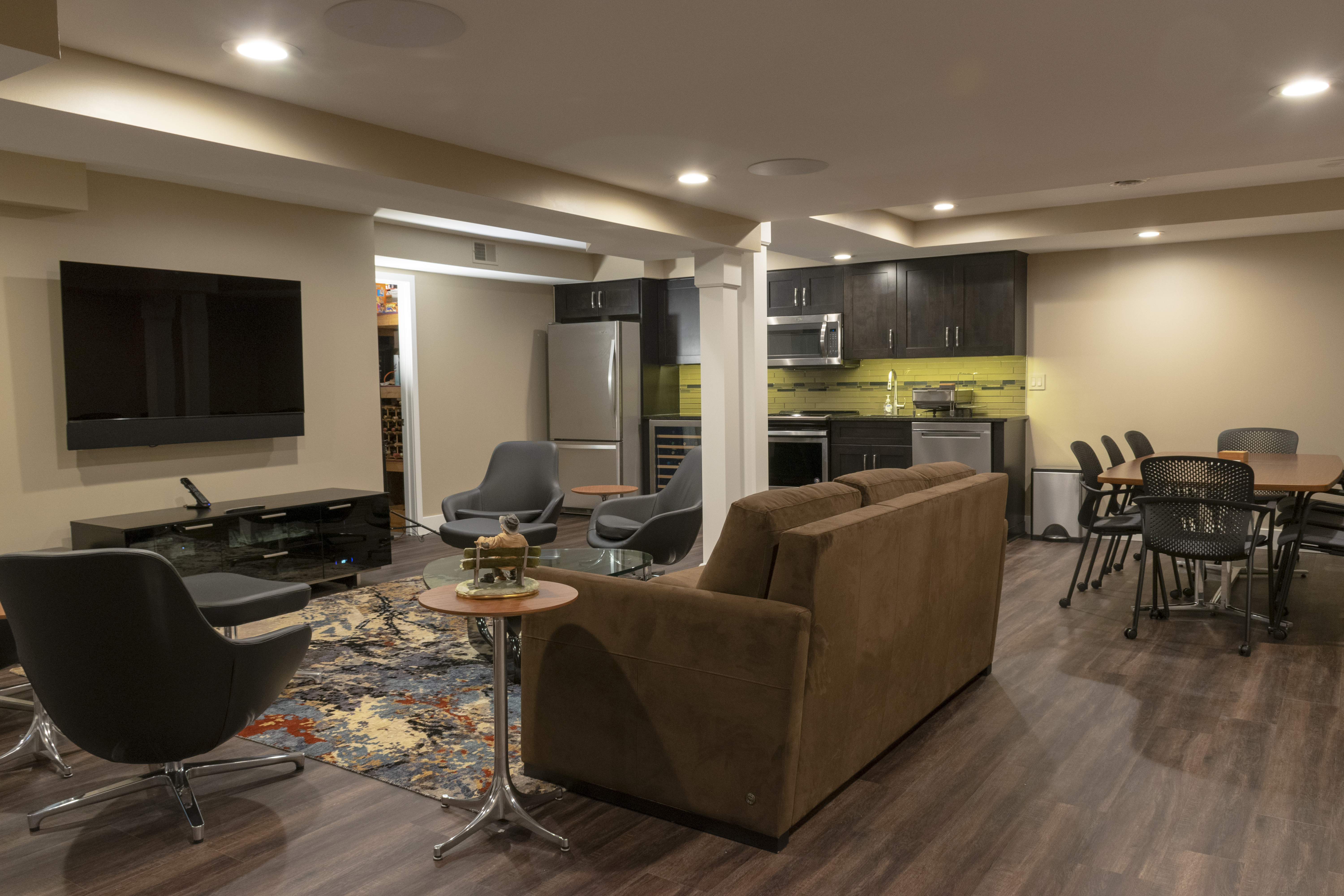 Basement Remodeling in Bloomfield Hills