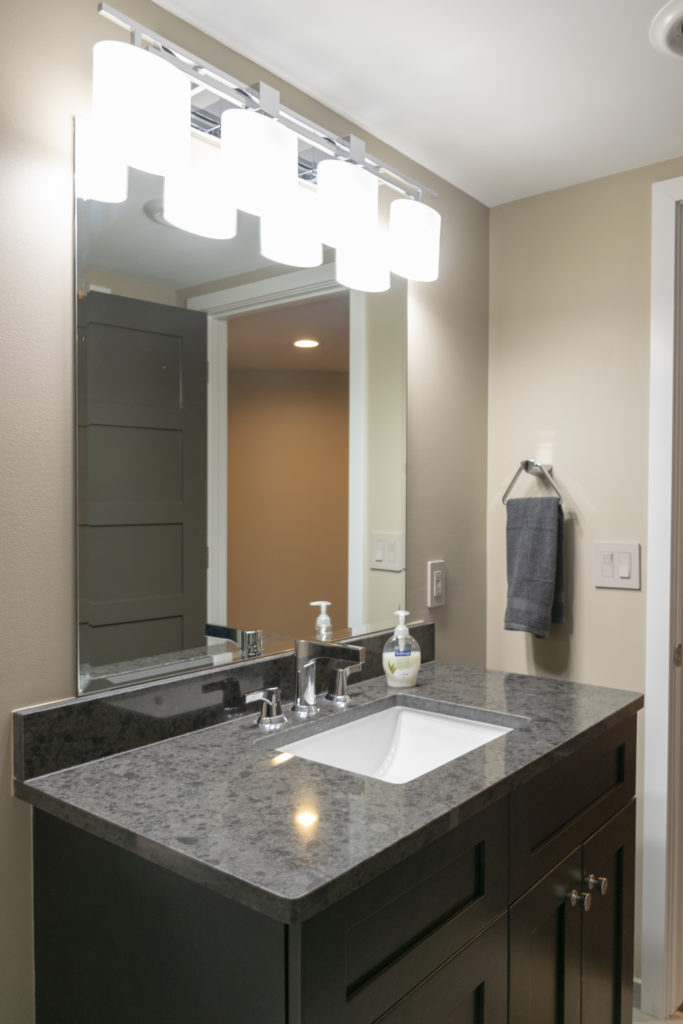 Basement Remodeling with Bathroom in Bloomfield Hills