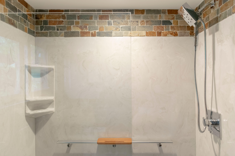 New Bath Remodel with Glass Door