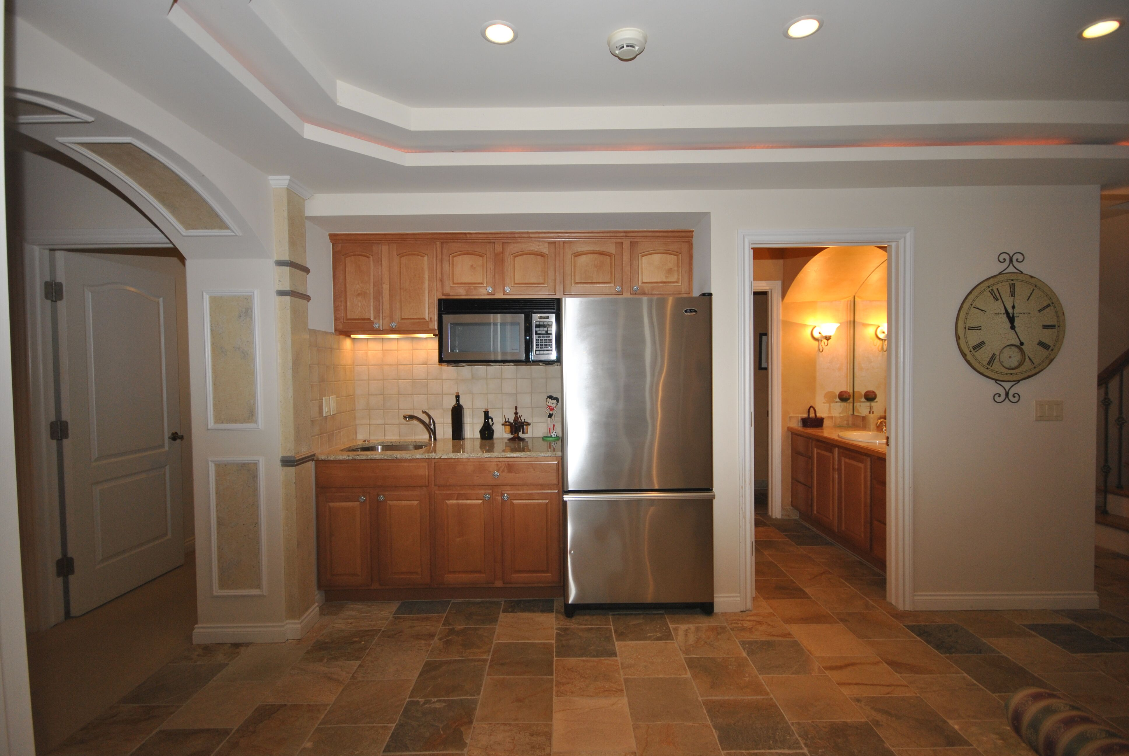 Custom Home Builder with Basement Recreation Room