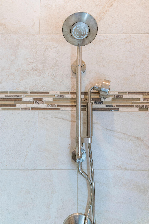 Washington Township Bath Remodel Shower Head