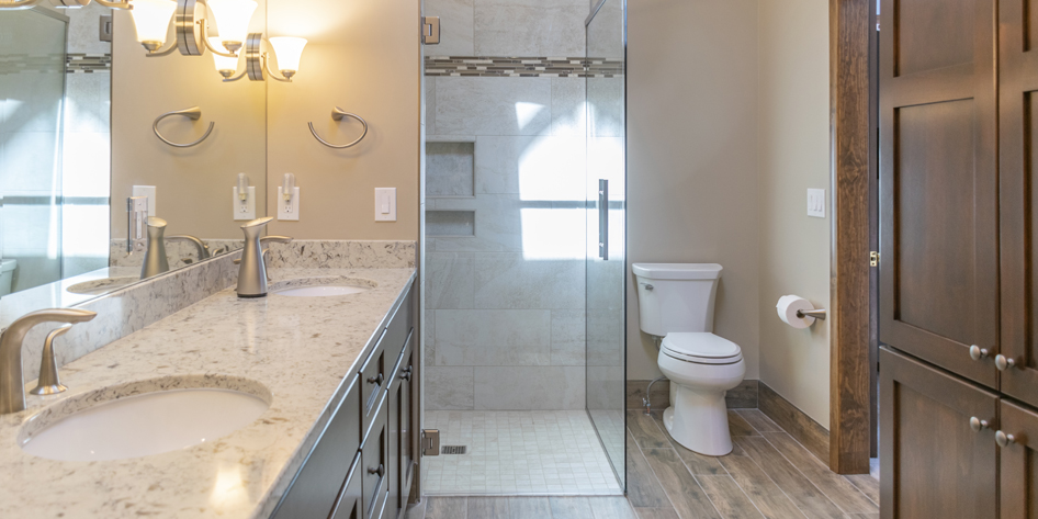 Washington Township Master Bathroom Remodel – Completed March 2019