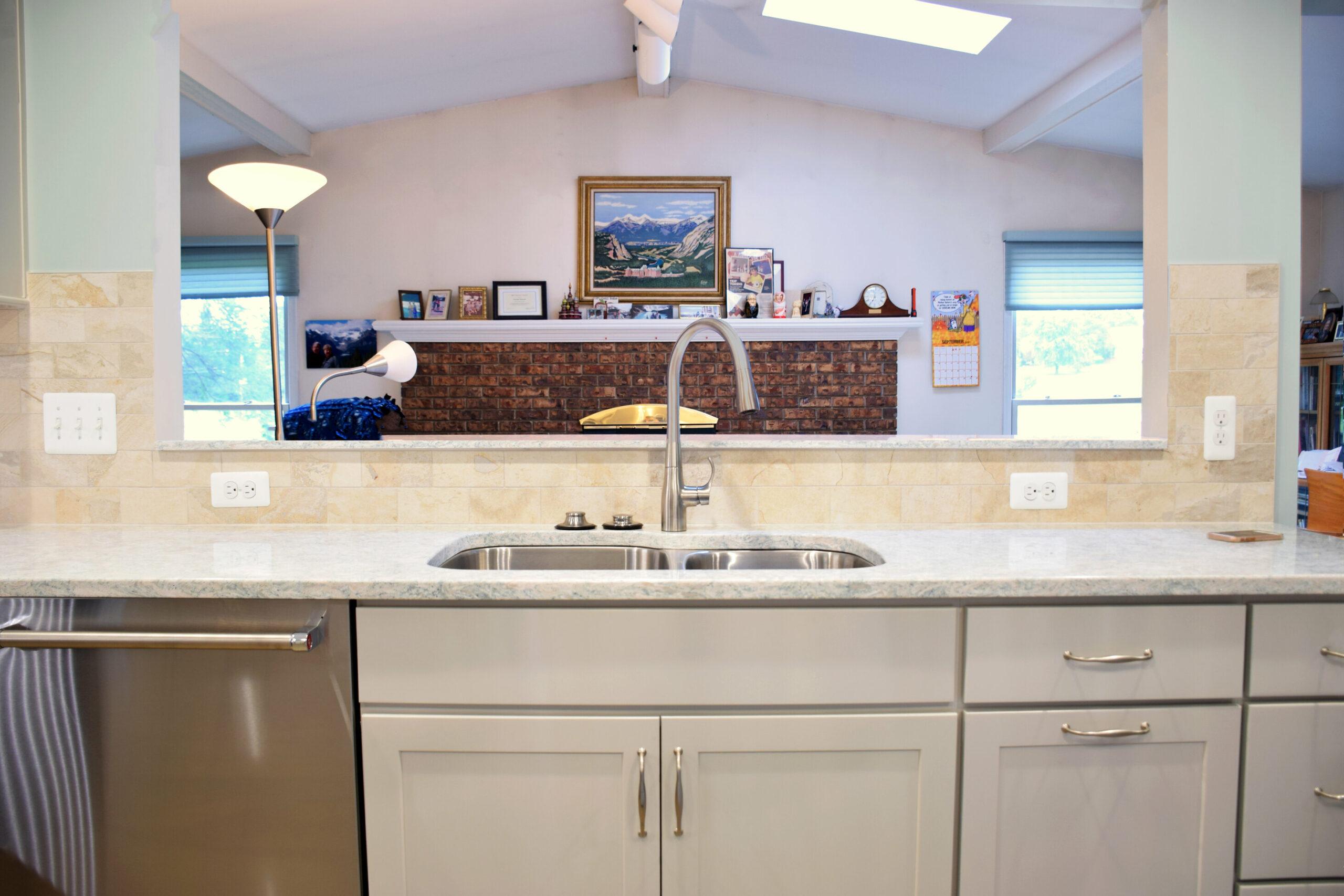 Rochester Hills Kitchen Remodel Pass Through