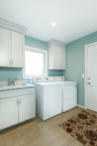 Rochester Hills Remodel in laundry room
