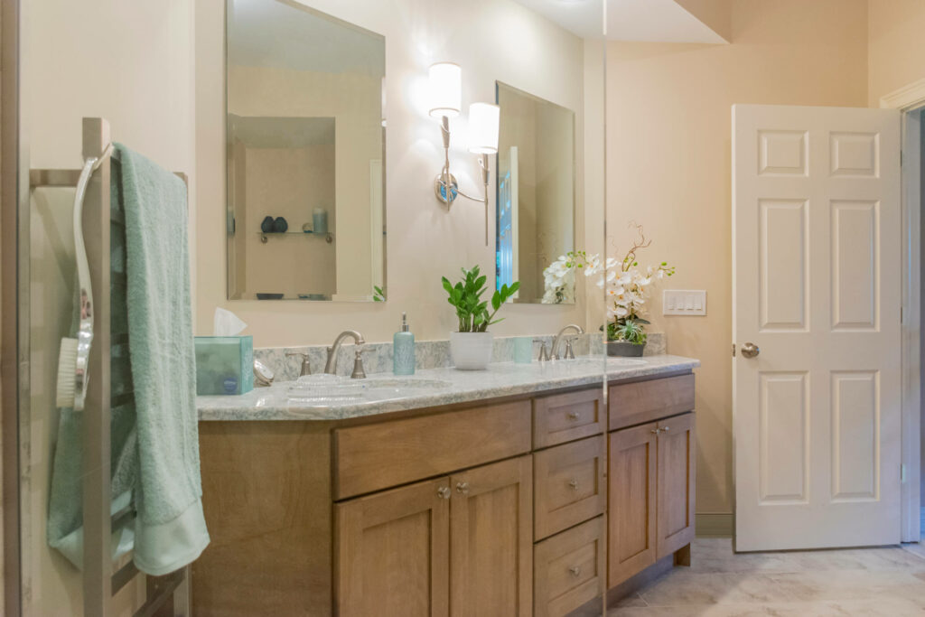 Bathroom Remodeling in Shelby Township with Quartz Countertops